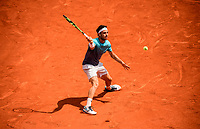 MARCO CECCHINATO (ITA)<br /> <br /> TENNIS - FRENCH OPEN - ROLAND GARROS - ATP - WTA - ITF - GRAND SLAM - CHAMPIONSHIPS - PARIS - FRANCE - 2018  <br /> <br /> <br /> <br /> &copy; TENNIS PHOTO NETWORK