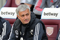 Manchester United manager Jose Mourinho during West Ham United vs Manchester United, Premier League Football at The London Stadium on 10th May 2018