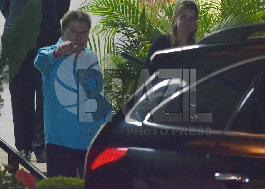 OSASCO,SP 24.10.2015 - TELETON-SP - O empresário Silvio Santos, durante o Teleton 2015 realizado no Estudio 2 do SBT, na noite desse sábado,24.  (Foto: Eduardo Carmim / Brazil Photo Press)