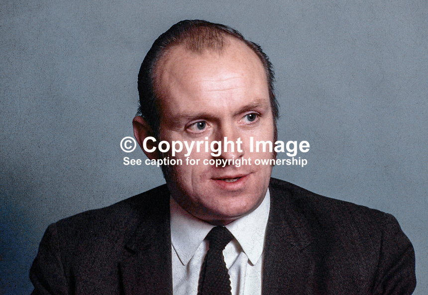 Senator Paddy Wilson, SDLP, N Ireland, 1971100440.<br />