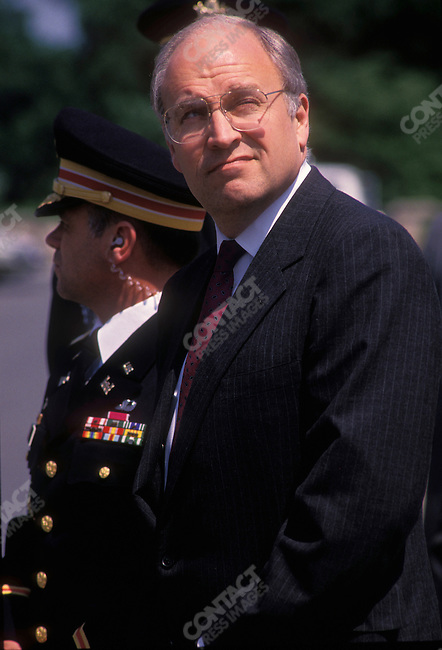 Dick Cheney, Secretary of Defense, Washington DC, May 1989.