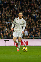 Real Madrid´s Gareth Bale during 2014-15 La Liga match between Real Madrid and Deportivo de la Coruna at Santiago Bernabeu stadium in Madrid, Spain. February 14, 2015. (ALTERPHOTOS/Luis Fernandez) /NORTEphoto.com