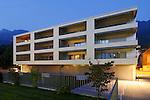 Architekturfotos für Bargetze und Partner in Triesen, MFH-Sternen. Fotos: Paul Trummer