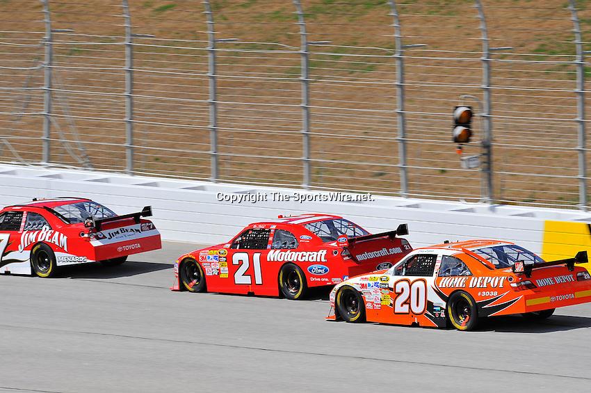 Mar 08, 2009; 1:35:59 PM; Hampton, GA, USA; NASCAR Sprint Cup Series race for the Kobalt Tools 500 at the Atlanta Motor Speedway.  Mandatory Credit: (thesportswire.net)