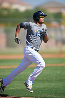 San Diego Padres Fernando Tatis Jr. (23) during an Instructional League camp day on October 4, 2016 at the Peoria Sports Complex in Peoria, Arizona.  (Mike Janes/Four Seam Images)