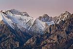 Dawn over the Eastern Sierra near Lone Pine, California