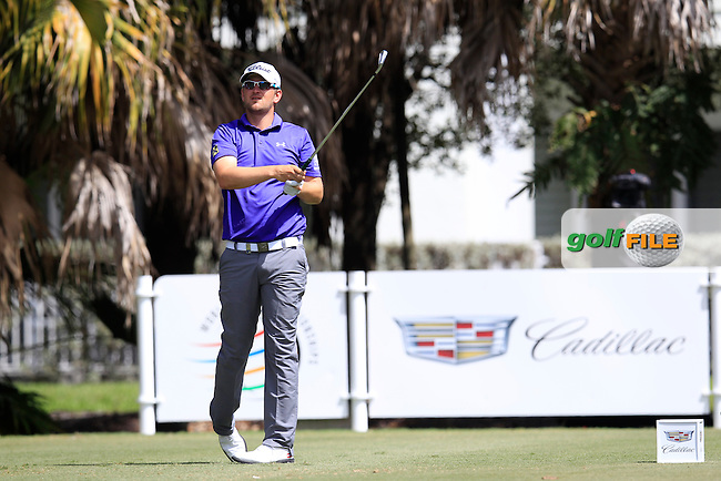 Bernd Wiesberger (AUT) during the 1st round at the WGC Cadillac Championship, Blue Monster, Trump National Doral, Doral, Florida, USA<br /> Picture: Fran Caffrey / Golffile