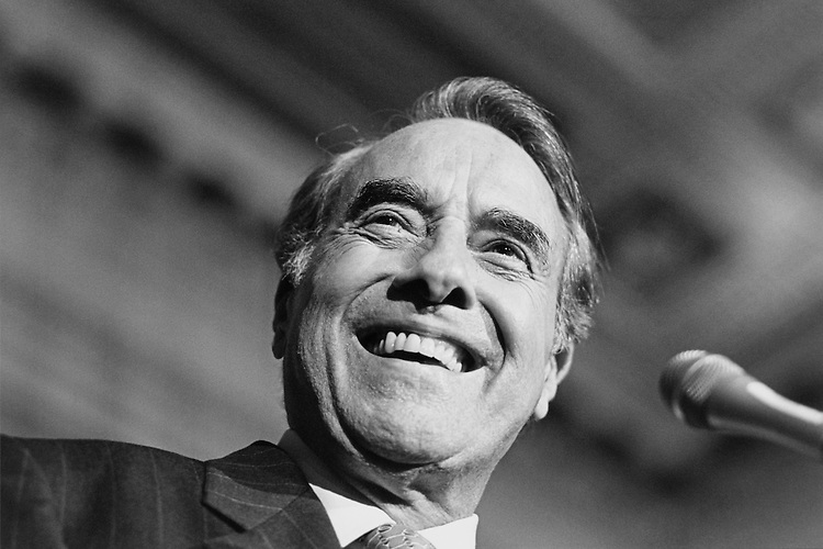 "Sen. Robert Joseph ""Bob"" Dole, R-Kans., Senate Majority Leader. June 1996 (Photo By Laura Patterson/CQ Roll Call)"