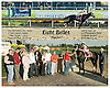 Eight Belles winning her maiden race at Delaware Park on 10/30/07