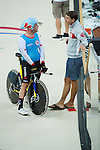 RIO DE JANEIRO - 6/9/2016:  Sébastien Travers and  Ross Wilson during Track Cycling training at the Paralympic Village at the Rio 2016 Paralympic Games. (Photo by Matthew Murnaghan/Canadian Paralympic Committee