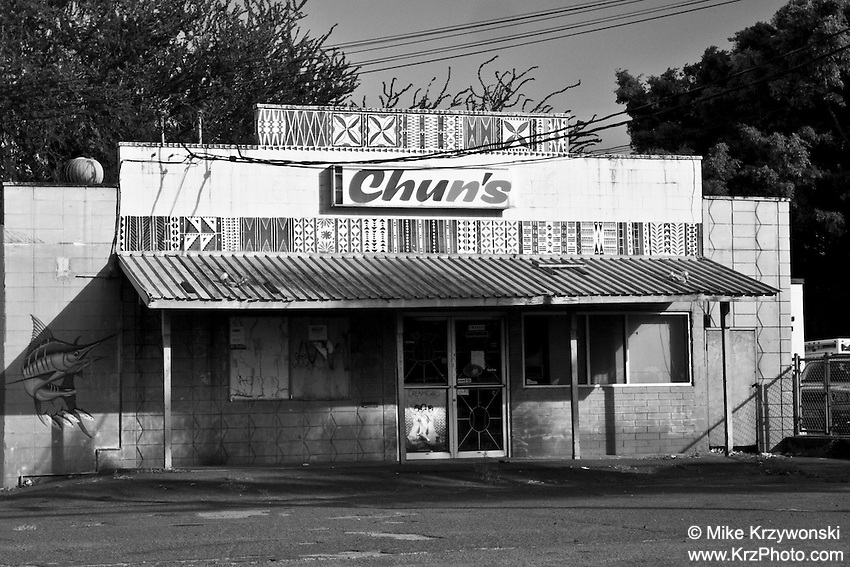Historic Chun's convenience store, Waialua, Oahu, Hawaii