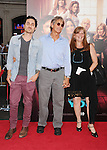 HOLLYWOOD, CA- SEPTEMBER 15: Keaton Simons (L), actor Eric Roberts (C) and Eliza Roberts arrive at the 'This Is Where I Leave You' - Los Angeles Premiere at TCL Chinese Theatre on September 15, 2014 in Hollywood, California.
