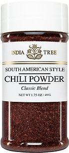 30591 Chili Powder, Small Jar 1.75 oz, India Tree Storefront