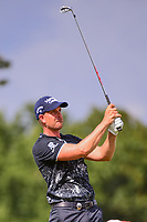 Henrik Stenson (SWE) watches his tee shot on 17 during Saturday's round 3 of the PGA Championship at the Quail Hollow Club in Charlotte, North Carolina. 8/12/2017.<br /> Picture: Golffile | Ken Murray<br /> <br /> <br /> All photo usage must carry mandatory copyright credit (&copy; Golffile | Ken Murray)
