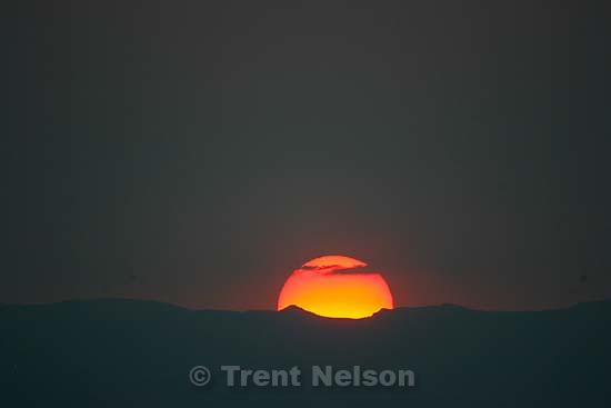 Salt Lake City - Sunset..; 9.08.2007