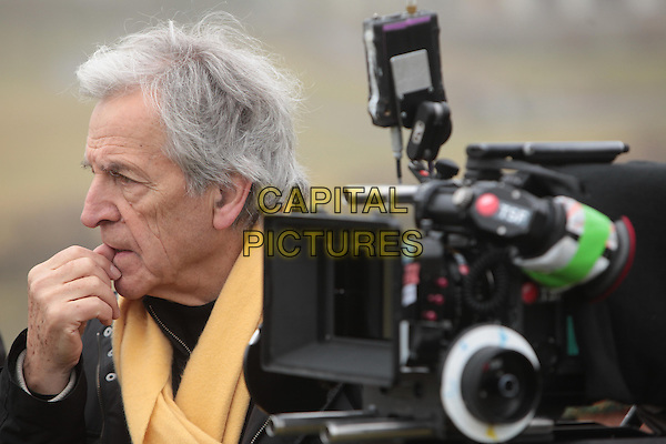 Costa Gavras (Director)<br /> on the set of  Z (1969) <br /> *Filmstill - Editorial Use Only*<br /> CAP/NFS<br /> Image supplied by Capital Pictures