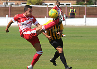 Will Thomas of Ramsgate in action during Ramsgate vs Folkestone Invicta, Friendly Match Football at Southwood Stadium on 1st August 2020