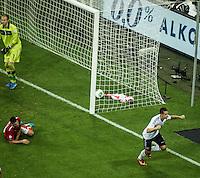 MUNIQUE, ALEMANHA, 06.09.2013 - COPA 2014 - ELIMINATORIAS EUROPA - Miroslav Klose da Alemanha durante partida contra a Austria jogo valido pela oitava rodada do grupo C das Eliminatorias Europeias da Copa do Mundo de 2014 no Estádio Allianz Arena em Munique na Alemanha, nesta sexta-feira, 06. A Alemanha venceu por 3 a 0 e lidera o grupo. (Foto: Reinaldo Coddou / Pixathlon / Brazil Photo Press).
