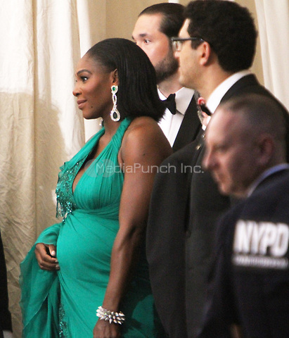 NEW YORK, NY May 01, 2017  Serena Williams  attend  The Metropolitan Museum of Art Costume Institute Benefit Gala for Rei Kawakubo Comme des Garcons at  Metropolitan Museum of Art  in New York May 01,  2017. Credit:RW/MediaPunch