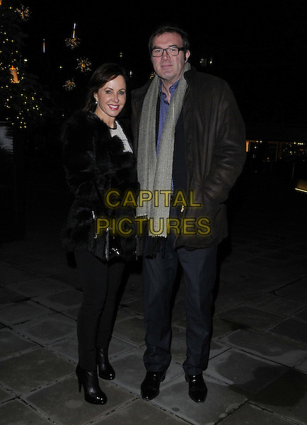 LONDON, ENGLAND - DECEMBER 02: Carolyn Morton &amp; Andrew Morton attend the &quot;Stasha Palos: And The Stars Shine Down&quot; private view, Saatchi Gallery, King's Rd., on Tuesday December 02, 2014 in London, England, UK. <br /> CAP/CAN<br /> &copy;Can Nguyen/Capital Pictures