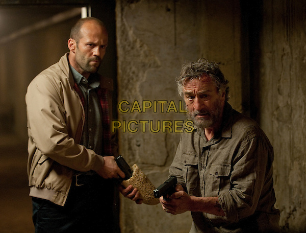 Jason Statham & Robert De Niro.in Killer Elite.*Filmstill - Editorial Use Only*.CAP/PLF.Supplied by Capital Pictures.