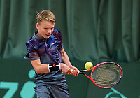 Wateringen, The Netherlands, March 16, 2018,  De Rhijenhof , NOJK 14/18 years, Nat. Junior Tennis Champ. Abel Forger (NED)<br />  Photo: www.tennisimages.com/Henk Koster