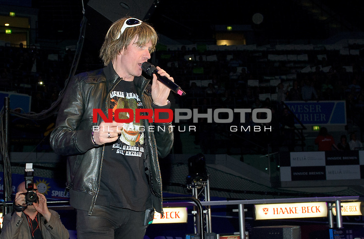 09.01.2015, &Ouml;VB Arena, Bremen, GER, Sixdays Bremen, im Bild Mickie Krause<br /> <br /> Foto &copy; nordphoto / Frisch
