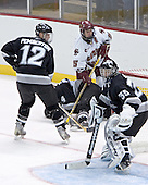 James Pemberton, Matt Taormina, Stephen Gionta, Tyler Sims  The Boston College Eagles defeated the Providence College Friars 3-2 in regulation on October 29, 2005 at Kelley Rink in Conte Forum in Chestnut Hill, MA.  It was BC's first Hockey East win of the season and Providence's first HE loss.