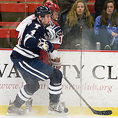 Rob O'Gara (Yale - 4), Alex Fallstrom (Harvard - 16) - The Yale University Bulldogs defeated the Harvard University Crimson 5-1 on Saturday, November 3, 2012, at Bright Hockey Center in Boston, Massachusetts.