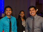 Jeff Soriano, Victoria Silva and Jared Apostol during the JDRF Northern Nevada Vision Gala held in the Reno Ballroom on Saturday April 28, 2018.