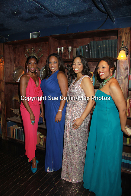 Cast - The Gershwins' Porgy and Bess on Opening Night - January 12, 1212 at the Richard Rogers Theatre, New York City, New York.  (Photo by Sue Coflin/Max Photos)