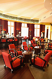 VIETNAM, Hue, La Residence Hotel, an interior view of the bar and lobby