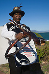 Whale crier, Hermanus, Western Cape, South Africa