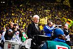 11.05.2019, Signal Iduna Park, Dortmund, GER, 1.FBL, Borussia Dortmund vs Fortuna Düsseldorf, DFL REGULATIONS PROHIBIT ANY USE OF PHOTOGRAPHS AS IMAGE SEQUENCES AND/OR QUASI-VIDEO<br /> <br /> im Bild | picture shows:<br /> Reinhard Rauball (Praesident BVB), <br /> <br /> Foto © nordphoto / Rauch