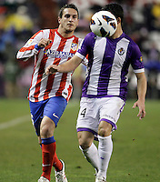 Koke during Real Valladolid V Atletico de Madrid match of La Liga 2012/13. 17/02/2012. Victor Blanco/Alterphotos /NortePhoto