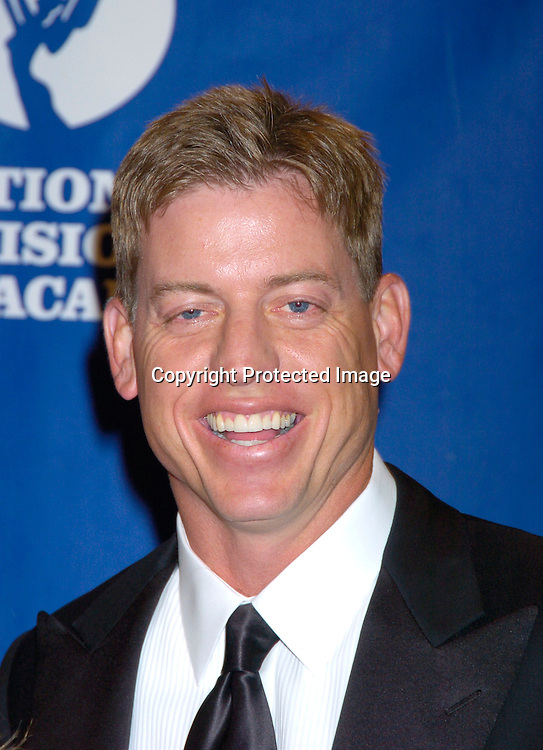 Troy Aikman of Fox Sports ..at The 25th Annual Sports Emmy Awards held on april 19, 2004 at the Marriott Marquis Hotel. Photo by Robin Platzer, Twin Images