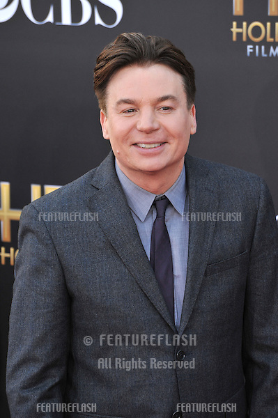 Mike Myers at the 2014 Hollywood Film Awards at the Hollywood Palladium.<br /> November 14, 2014  Los Angeles, CA<br /> Picture: Paul Smith / Featureflash