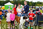 Anna McCarthy, Bris McCarthy Jackie Moriarty, Brigetta, Donal and Daniel Egan and Tadhg McCarthy Castleisland at the Killarney Canine and District dog show on Tuesday