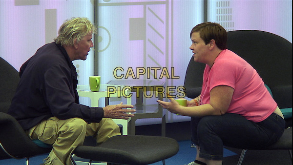 Gary Busey, Deirdre Kelly <br /> in Celebrity Big Brother - Summer 2014 (Day 8)<br /> *Editorial Use Only*<br /> CAP/NFS<br /> Image supplied by Capital Pictures