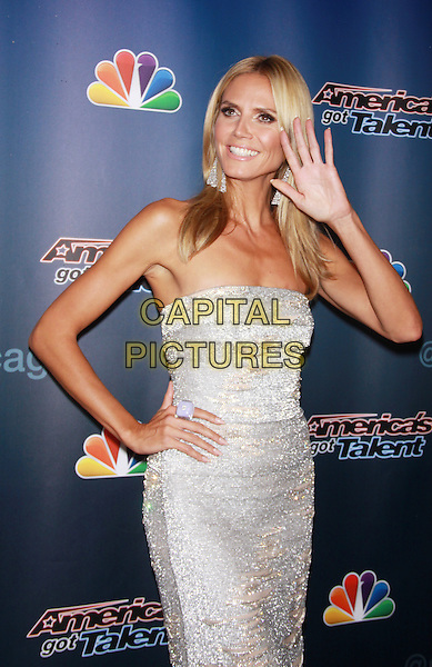 August  27, 2014:  Heidi Klum,  at America's Got Talent Season 9 Red Carpet  at Radio City Music Hall  in New York. <br /> CAP/MPI/RW<br /> &copy;RW/ MediaPunch/Capital Pictures
