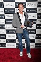 Designer David Bromstad attends the Samsung Galaxy Note 10.1 Launch Event in New York City, August 15, 2012. &copy;&nbsp;Diego Corredor/MediaPunch Inc. /NortePhoto.com<br />
