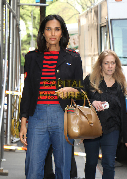04 25 2016: Padma Lakshmi  at the View  in New York. <br /> CAP/MPI/RW<br /> &copy;RW/MPI/Capital Pictures