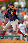 19 March 2006: Gary Majewski, pitcher for the Washington Nationals, on the mound during a Spring Training game against the Los Angeles Dodgers at Holeman Stadium, in Vero Beach, Florida. The Dodgers defeated the Nationals 9-1 in Grapefruit League play...Mandatory Photo Credit: Ed Wolfstein Photo..