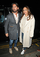 Jay Rutland and Tamara Ecclestone at the Ivy Chelsea Garden's Guy Fawkes party, The Ivy Chelsea Garden, King's Road, London, England, UK, on Sunday 04 November 2018.<br /> CAP/CAN<br /> &copy;CAN/Capital Pictures