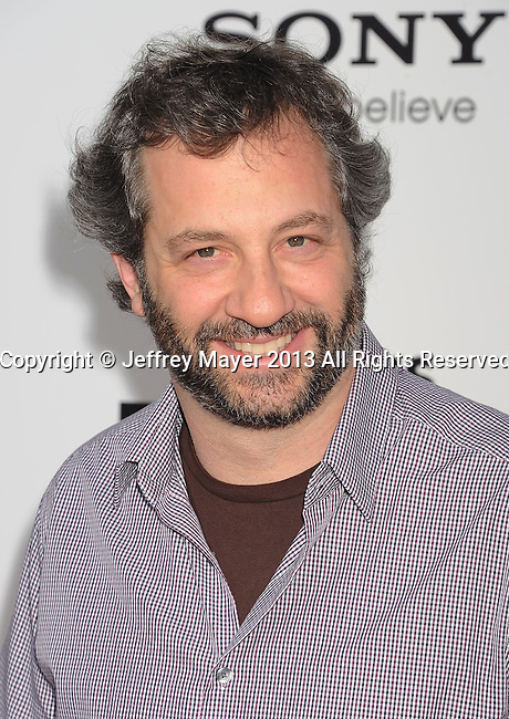 WESTWOOD, CA- JUNE 03: Director/producer Judd Apatow arrives at the 'This Is The End' - Los Angeles Premiere at Regency Village Theatre on June 3, 2013 in Westwood, California.
