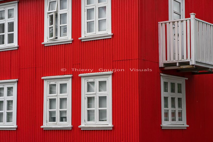 Sk&oacute;lav&ouml;r&eth;ust&iacute;gur.<br /> Reykjavik, Iceland.<br /> Photo by Thierry Gourjon.<br /> 2018
