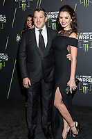 LAS VEGAS, NV - NOVEMBER 30: Tony Stewart and Pennelope Jimenez arriving to the 2017 NASCAR Sprint Cup Awards at The Wynn Hotel & Casino in Las Vegas, Nevada on November 30, 2017. Credit: Damairs Carter/MediaPunch /NortePhoto NORTEPHOTOMEXICO