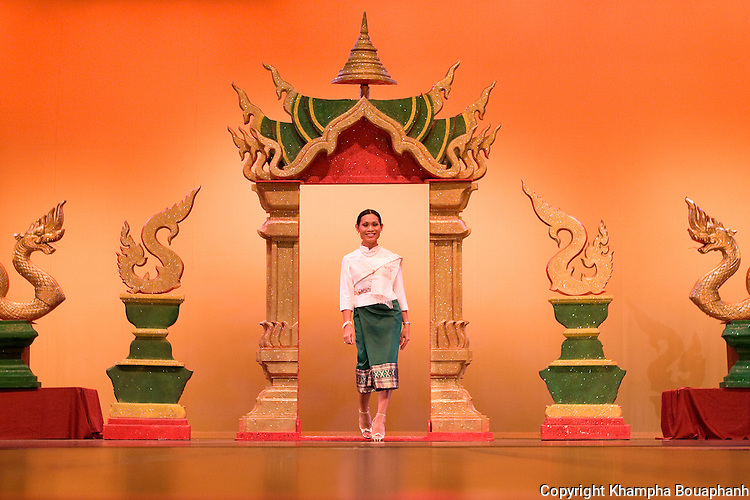Vivian Obmalay at the Lao Artists Festival in Elgin, IL, photographed on August 21, 2010.  (photo by Khampha Bouaphanh)