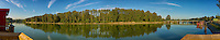 Bedford Channel Panorama, Fort Langley B.C.