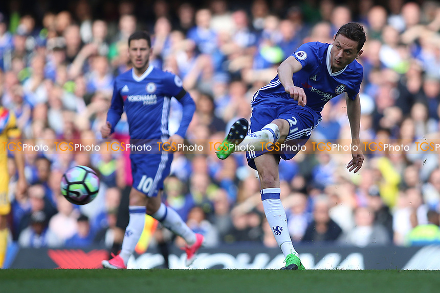 Nemanja Matic of Chelsea during Chelsea vs Crystal Palace, Premier League Football at Stamford Bridge on 1st April 2017